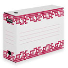 Короб архивный Для хранения А4 до 950 листов 102 мм Attache Selection гофрокартон белый 251х355х102 мм